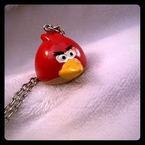 Claire's Angry Birds long necklace. New